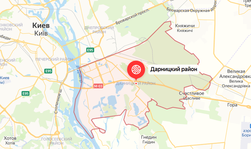 Автоинструктор в Дарницком районе
