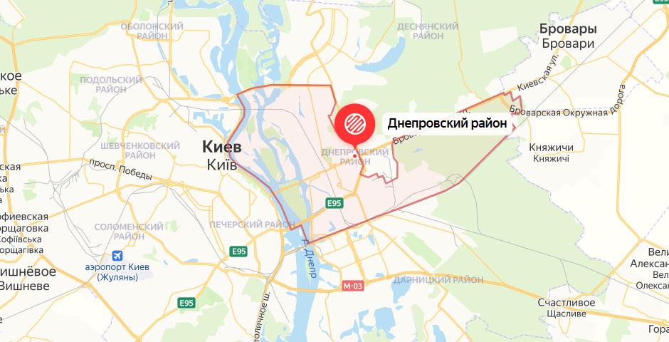 Автоинструктор в Днепровском районе